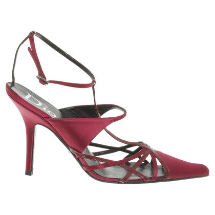 Christian Dior pumps with ankle strap