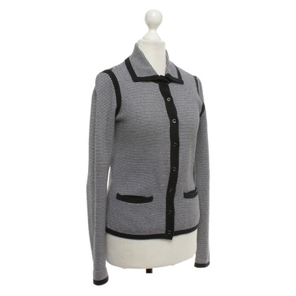 Armani Jeans Vest in zwart / wit