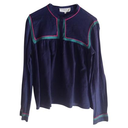 Vanessa Bruno Blauw shirt