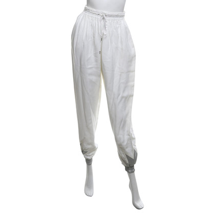 Jean Paul Gaultier Broek in wit