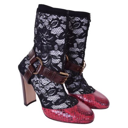 Dolce & Gabbana pumps made of snakeskin
