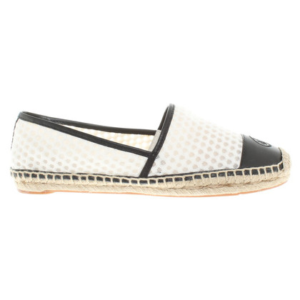 Tory Burch Espadrilles in black / white