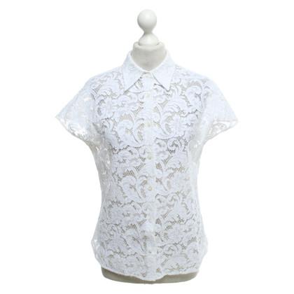 Prada Lace blouse in white
