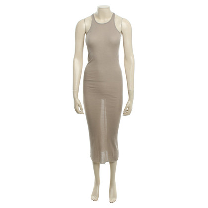 Rick Owens Langes Kleid in Beige