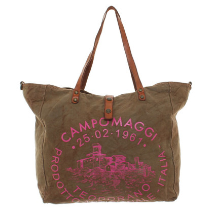 Campomaggi Shoppers in Olive