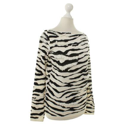 Blumarine Leopard print sweater