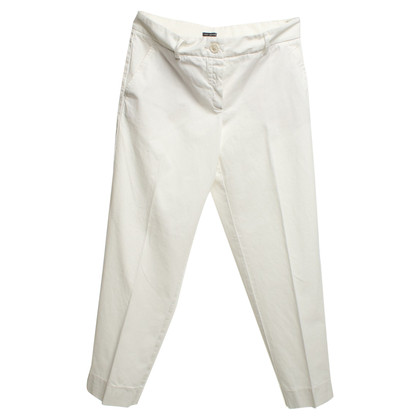 Iris von Arnim Capri pants in white