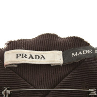 Prada Brooch with rhinestone trim