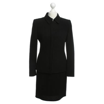 Cerruti 1881 Wool costume in black