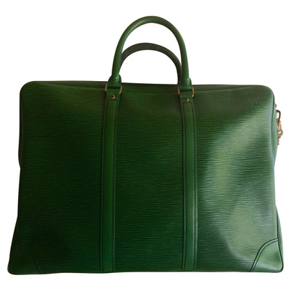 Louis Vuitton Groene lederen tas van Louis Vuitton
