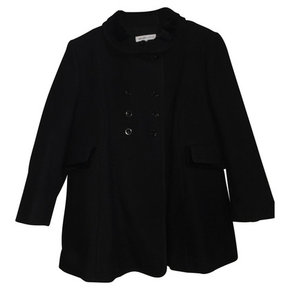 See by Chloé Coat in black