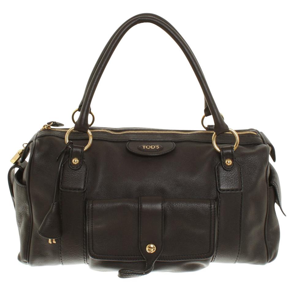 tod 39 s handtasche in braun second hand tod 39 s handtasche in braun gebraucht kaufen f r 280 00. Black Bedroom Furniture Sets. Home Design Ideas