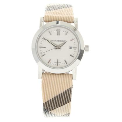 Burberry Wristwatch with Nova check pattern