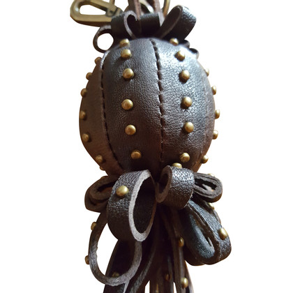 MCM Leather pendant with rivets