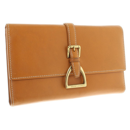 Ralph Lauren Card Case in Lichtbruin