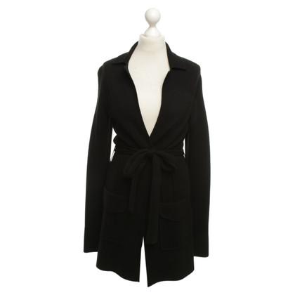 Rena Lange Knitted coat with belt