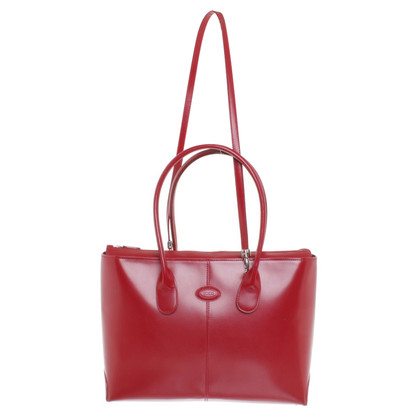 Tod's Sac à main en rouge