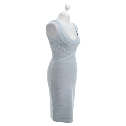 Hervé Léger Dress in light gray