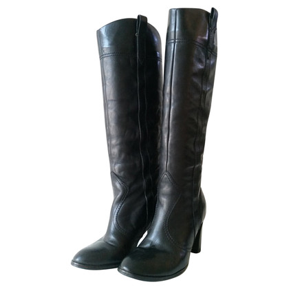 Marc Jacobs Black Leather Boots