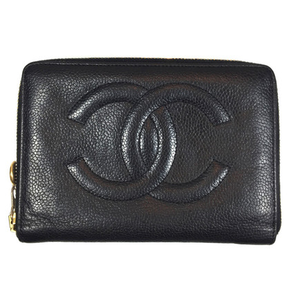 Chanel Portemonnee van Caviar Leather