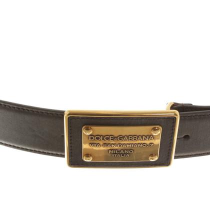 Dolce & Gabbana Belt in brown