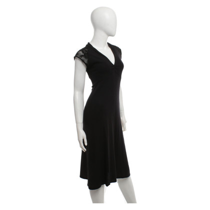 Ella Moss Dress in black