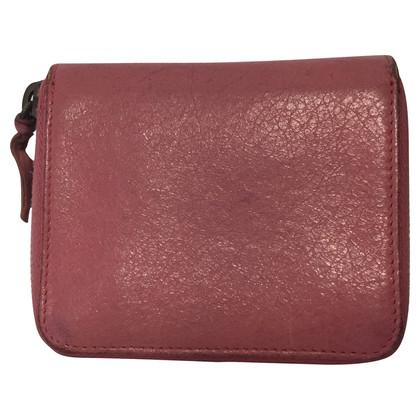 Balenciaga Wallet Pink Small