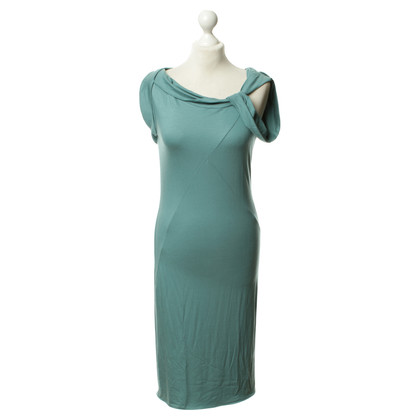 Armani Jersey dress in turquoise