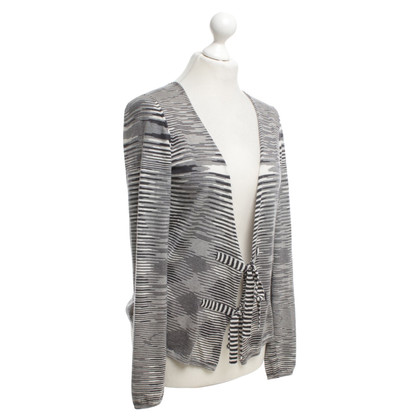 Missoni Cardigan in cream / blue