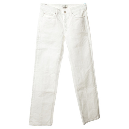 Acne Jeans in wit