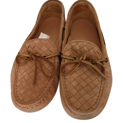 Bottega Veneta Braided leather moccasins