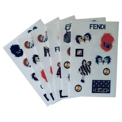 Fendi Notebook con adesivi