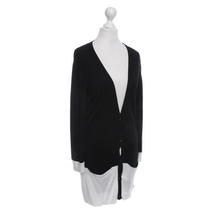 Calvin Klein Cardigan in Black / White