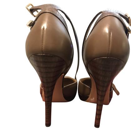 Salvatore Ferragamo pumps with ankle strap