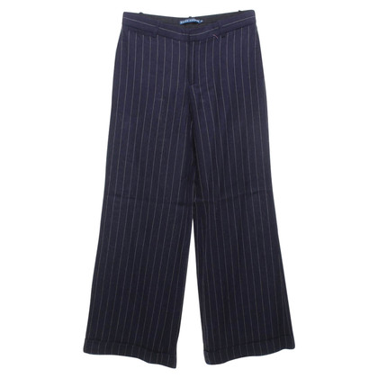 Ralph Lauren Pinstripe trousers in blue