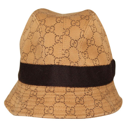 Gucci Hat with Guccissima pattern