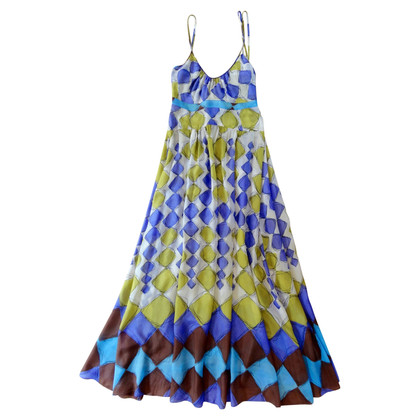 Marni Multi-colored silk dress