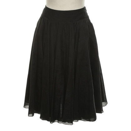 Armani Circle skirt in black