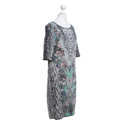 Marc Cain Knitted dress with print