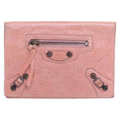 Balenciaga Card case made of leather