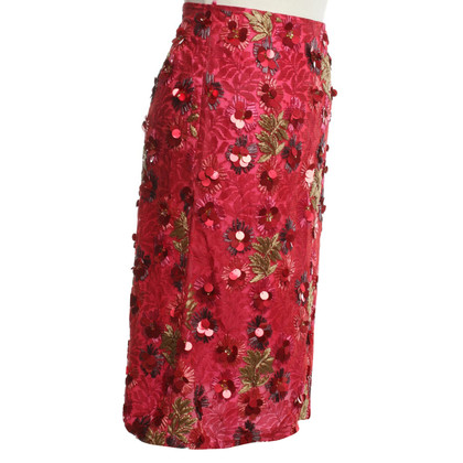 Matthew Williamson skirt with applications