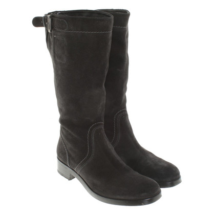 Jil Sander Ankle boots in anthracite