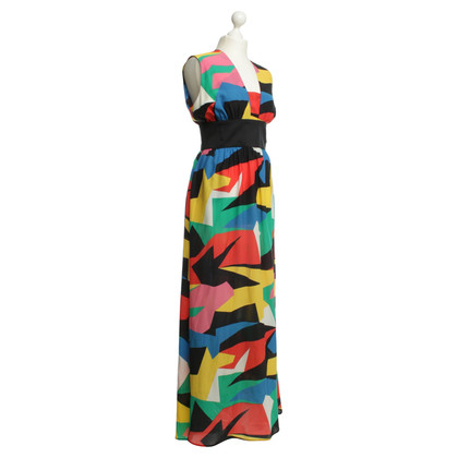 JC de Castelbajac Long dress with pattern