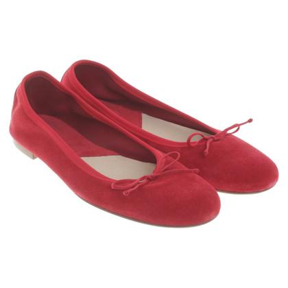 Fred de la Bretoniere Ballerines en rouge