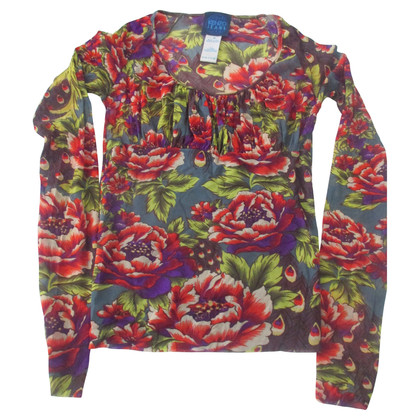 Kenzo T-shirt with flowers print