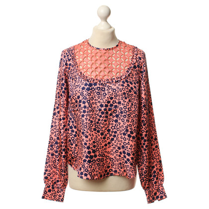 Manoush Silk top with floral pattern