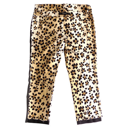 Moschino Short jeans with animal print