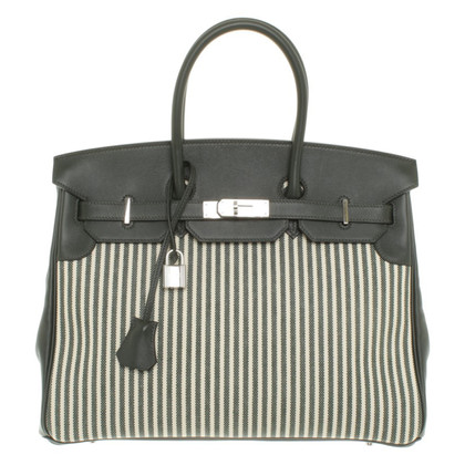 Hermès Birkin Bag in Green / White