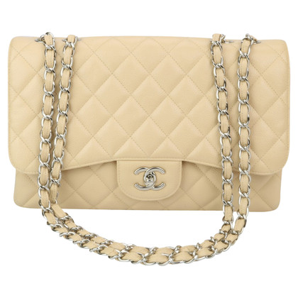 "Chanel ""Jumbo Flap Bag"" aus Kaviarleder"