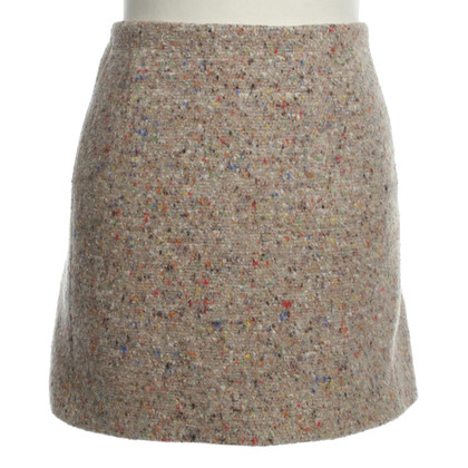 Acne skirt with colorful pattern